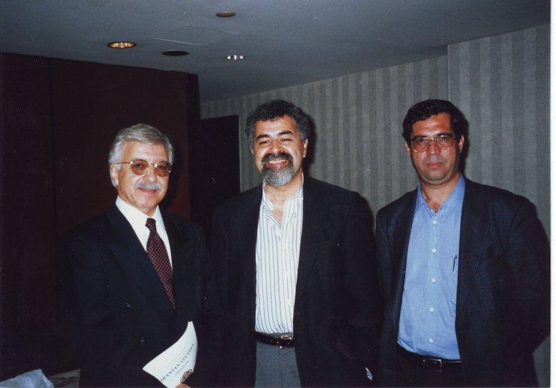 مریلند خرداد 79 ( ژوئن 2000) کنفرانس مطالعات ایرانی با دکتر احمد اشرف و دکتر سعید امیرارجمند