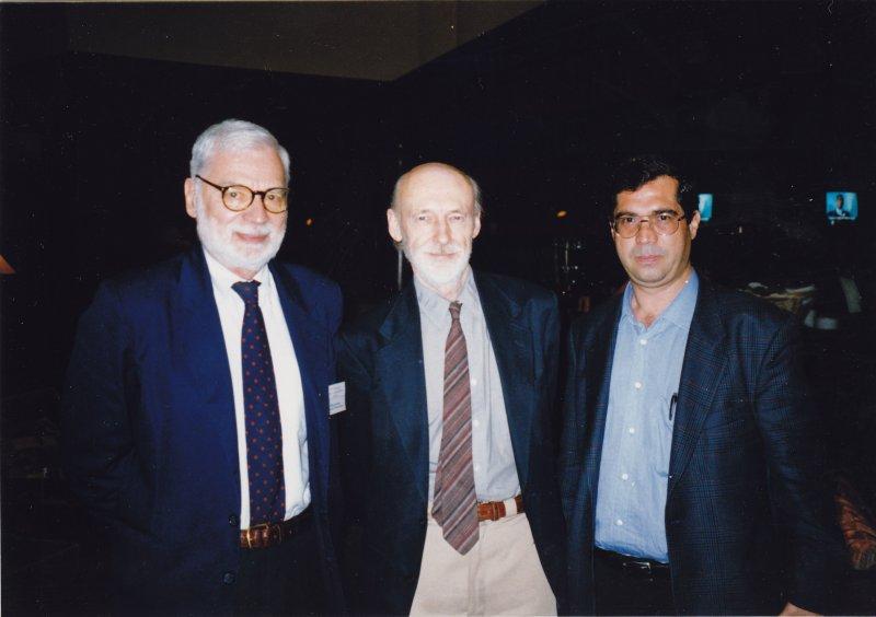 خرداد 79 با پروفسور اسپونر و پروفسور هناوی