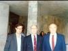 تاجیکستان ـ آکادمی علوم از راست : پروفسور آلبرت خرُموف ـ خسرو رضوی و علی دهباشی ـ آبان 1370