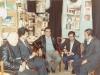 تاجیکستان ـ دوشنبه ـ آبان 1370 ـ از راست : لایق شیرعلی ،علی هباشی، عسگر حکیم، باقر معین و کمال عینی ( عکس از محی الین عالم پور )