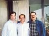 لس آنجلس مهر ماه 1374 با کوروش افشار پناه و ناصر زراعتی ـ عکس از مرتضی نگاهی
