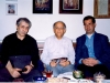 نوروز 1377 ـ با فریدون مشیری و احمد رضا احمدی ـ عکس از شفق سعد