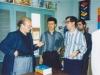 با پروفسور برت فراگنر در دفتر مجله کلک ـ دهه 1360