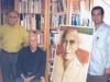 دوشنبه5 سپتامبر 2005 ( 14 شهریور 84) در کتابخانه دکتر مصدق به مدیریت عبدالمجید بیات به همراه دکتر پروین