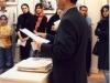سخنرانی در نمایشگاه عکس های آنه ماری شوارتسنباخ ـ 1385