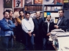 دفتر مجله بخارا ـ آبان 85 از راست : علی دهباشی، اصغرنوری ، مهدی جامی ، علی اکبر قزوینی ، مصطفی خلجی و ...