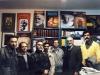 از راست: یوسف علیخانی، دکتر احمد محیط ، علی دهباشی ، جواد ماهزاده ، صمدی ، اصغر نوری و ..دی 1385