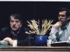با دکتر محمد صنعتی 26 آذر 85 دانشکده هنرهای زیبا عکس از محمد زابلی