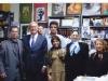 از چپ : علی دهباشی، فیلیپ ولتی، شهاب دهباشی، بهروز شادلو، سحر مازیار، ناهید طباطبائی و فرزانه قوجلو ـ دفتر مجله بخارا پاییز 1386
