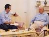 با دکتر عنایت الله رضا ـ آبان 87 عکس از حمید جانی پور