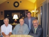 آستین ـ محمدرضا قانون پرور ـ علی دهباشی ، حافظ فرمانفرماییان و فریدون فرخ ـ شهریور 1389 ـ سپتامبر 2010