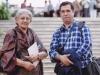 با دکتر فاطمه علی استاد دانشگاه ـ هند 1390