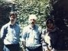 دکتر قمر غفار ـ احمد محمود و علی دهباشی ـ اواخر دهه 1360