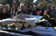 گزارش مراسم خاکسپاری دکتر سیمین دانشور به نقل از خبرگزاری ایسنا