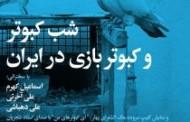 شب کبوتر و کبوتربازی در ایران