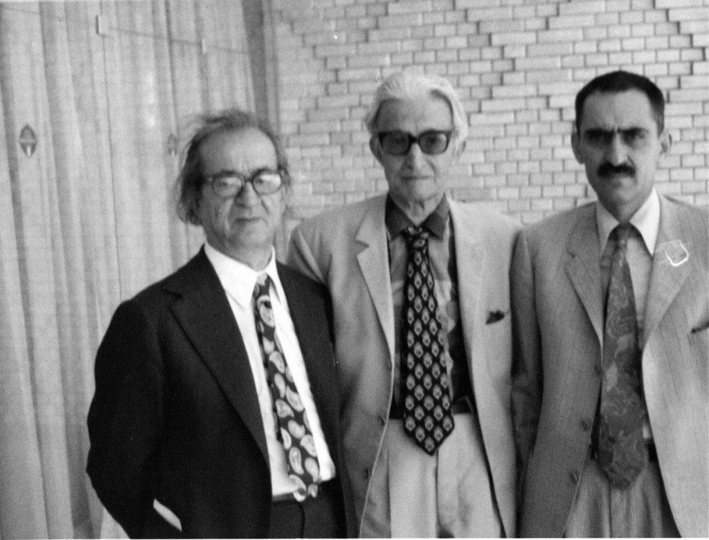 ایرج افشار، محمد فرخ و مجتبی مینوی