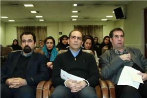 دکتر محمد زیار، دکتر سعید فیروزآبادی و علی دهباشـی ـ عکس از مجتبی سالک