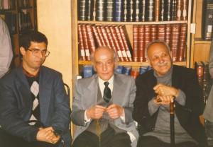 عبدالحسین زرین کوب ـ شرف الدین خراسانی و علی دهباشی