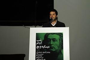 احسان رسول اف، مدیر گالری محسن ـ عکس از مجتبی سالک