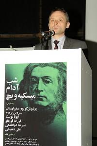 یولیوش گویوو، سفیر لهستان ـ عکس از مجتبی سالک