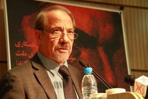 دکتر علی غضنفری ـ عکس از مجتبی سالک