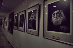 نمایشگاه پرتره های فخرالدین فخرالدینی ـ عکس از ستاره حیدری