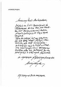 پیام آندره وایدا به دوستدارانش در شب بخارا