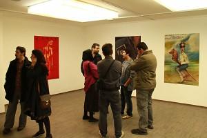 نمایش پوستر فیلم های آندره وایدا در گالری محسن