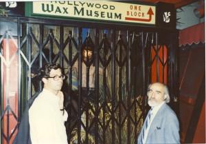 با دکتر محمود عنایت در هالیوود ـ سال 1990