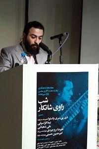 نیما افراسیابی ـ عکس از مجتبی سالک