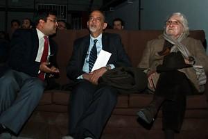 دکتر داریوش شایگان، دی.پی سری واستوا ، دکتر عبدالسمیع ـ عکس از مجتبی سالک