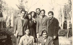 دانشجویان دانشکده ادبیات دانشگاه تهران ، محمد امین ریاحی، قمر آریان و ...