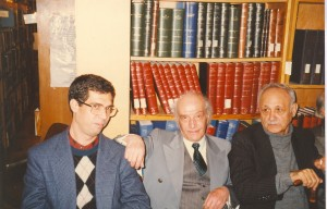 عبدالحسین زرین کوب ، شرف الدین خراسانی و علی دهباشی