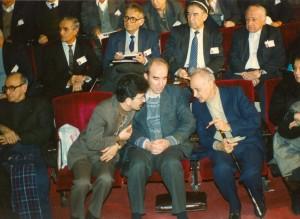 کنفرانس زبان فارسی ، عبدالحسین زرین کوب، علی اشرف صادقی ، احمد تقضلی، کمال عینی ، محمد جان شکوری