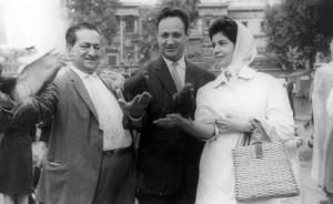 لندن، دکتر قمر آریان، دکتر عبدالحسین زرین کوب و استاد مینوی