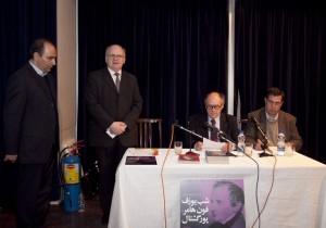 علی دهباشی، پروفسور فراگنر، دکتر بوکسباوم و دکتر سعید فیروزآبادی