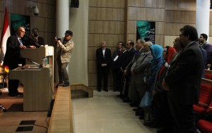شرکت کنندگان در مراسم دکتر فراگنر