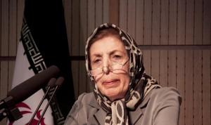دکتر ژاله آموزگار ـ عکس از سمیه لطفی