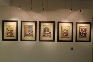 نمایشگاهی از مینیاتورهای شاهنامه بایسنقری ـ عکس از امید علمداری