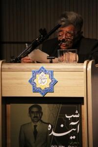 سید عبدالله انوار ـ عکس از سمیه لطفی