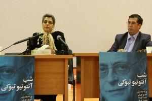 شقایق شرفی و علی دهباشی ـ عکس از مجتبی سالک