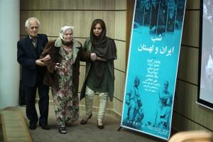 محمدعلی نیکپور به همراه همسرش خانم هلن استلماخ ـ عکس از جواد آشتباری