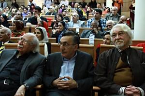 دکتر داریوش شایگان، کامران فانی و دکتر فتحالله مجتبایی ـ عکس از مجتبی سالک