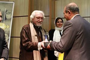 دکتر شایگان و محسن گلستانی ـ عکس از مجتبی سالک