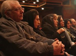 سیمین بهبهانی و دکتر احمد جلیلی و دیگر اهل قلم در مراسم شب تاگور
