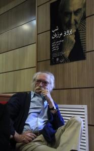 محمود دولت آبادی در شب پرویز مرزبان ـ عکس از سمیه لطفی