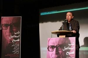 بهمن فرمان آرا از دلبستگیاش به رمانهای فصیح گفت ـ عکس از مجتبی سالک