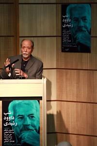علی نصیریان ـ عکس از مجتبی سالک