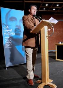 علی بهبهانی از اهمیت ماندلشتام در ادبیات روسیه گفت ـ عکس از منصور نصیری