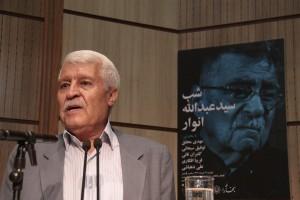 دکتر توفیق سبجانی ـ عکس از سمیه لطفی